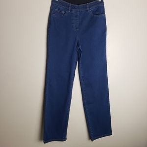 💜2/$20 Allison Daley High Rise Pull On Jeans Sz 8